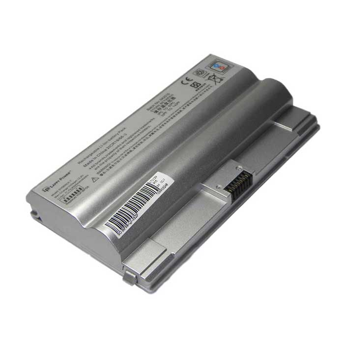 Laptop Battery For Sony Vaio VGN-FZ 6 Cell Silver