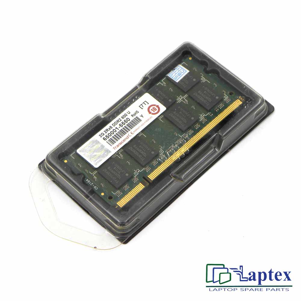 Laptop RAM 2gb 2rx8 Ddr2-800u