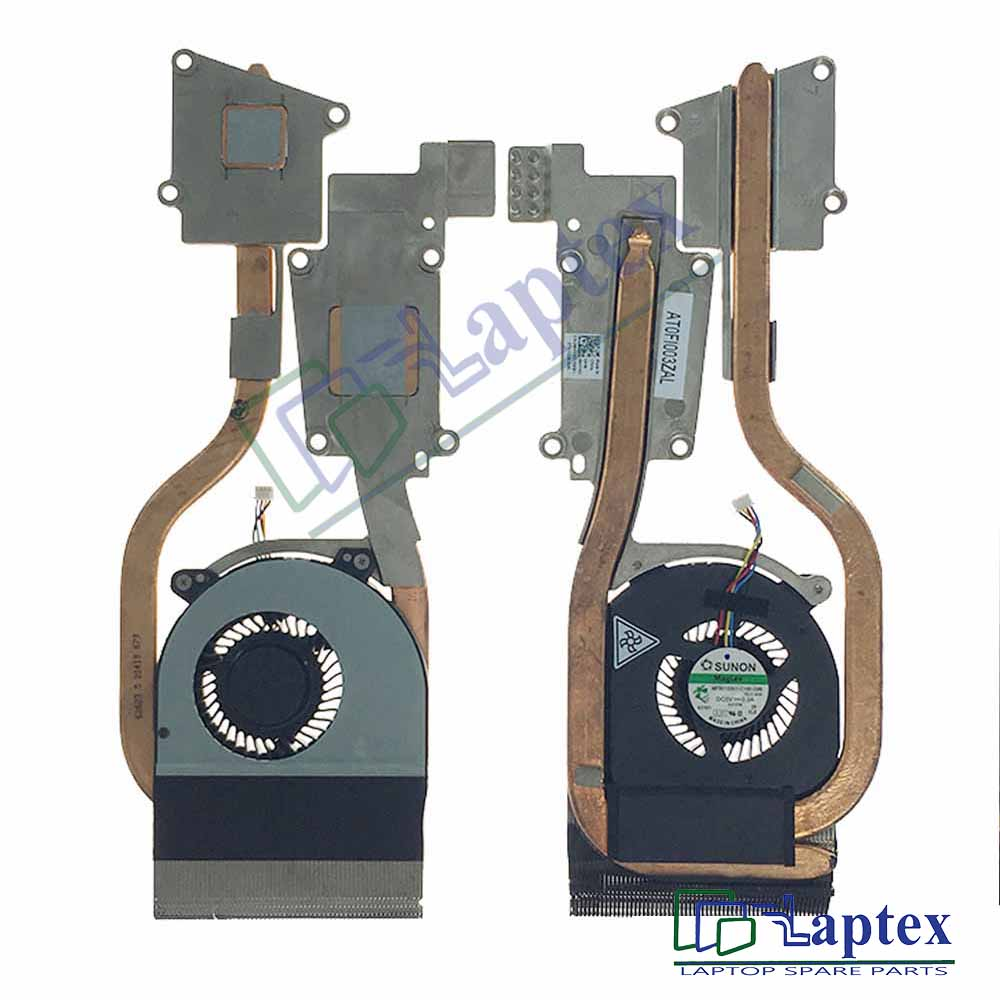 Dell Latitude E6520 Heatsink & CPU Cooling Fan