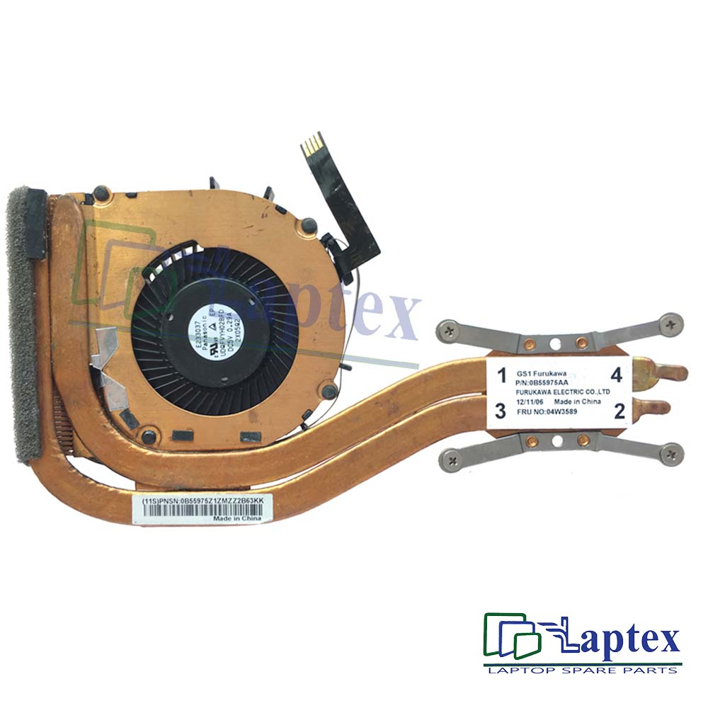 Lenovo Thinkpad X1 CPU Fan And Heatsink
