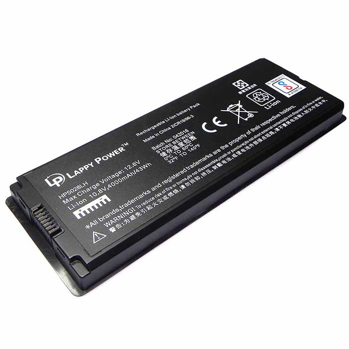 Laptop Battery For Pro 13 A1181 6 Cell Black