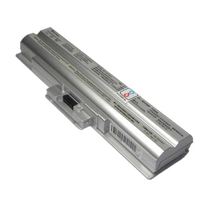 Laptop Battery For Sony Vaio VGP-BPS13-Q 6 Cell Silver