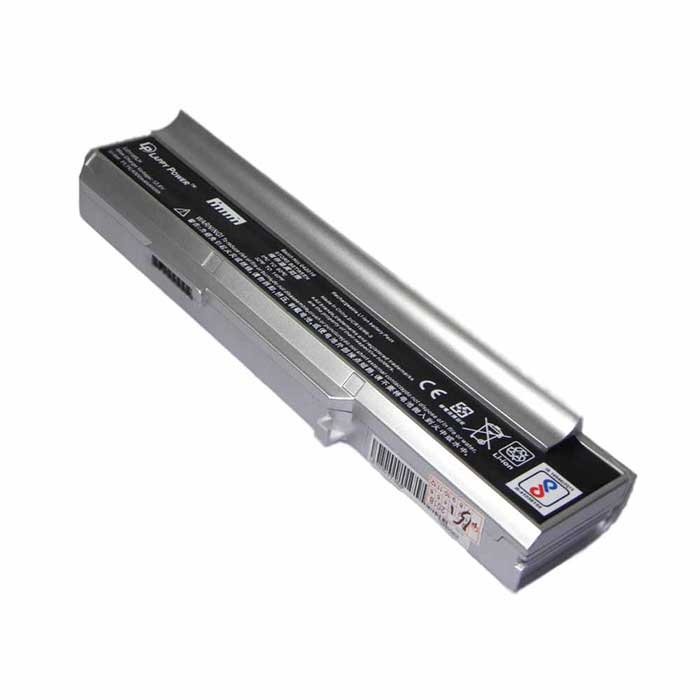 Laptop Battery For Lenovo 3000 6 Cell Silver