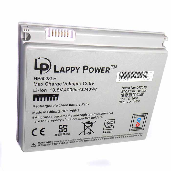 Laptop Battery For Pro A1175 6 Cell White