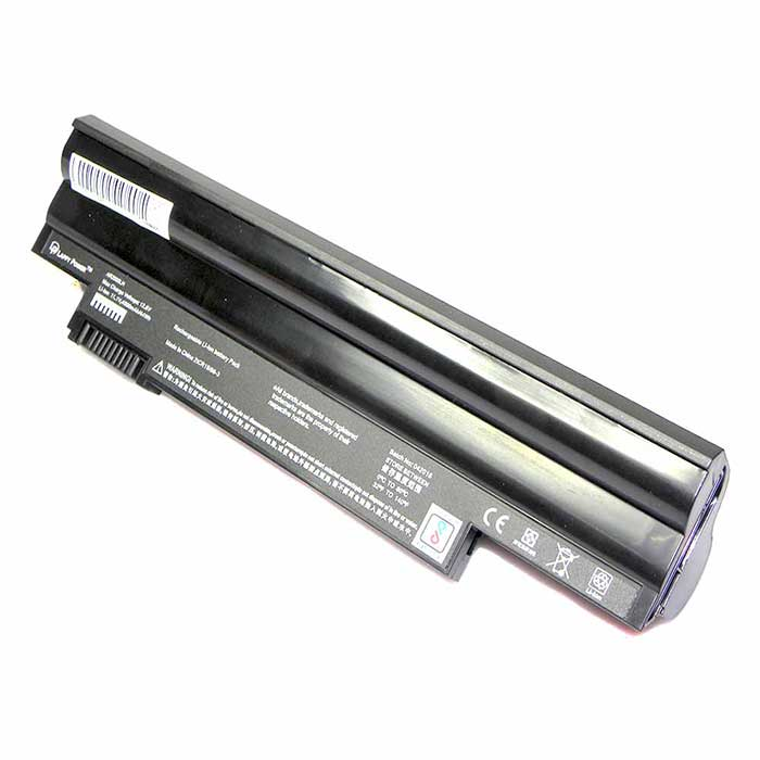 Laptop Battery For Acer Aspire One D150 Black 6 Cell