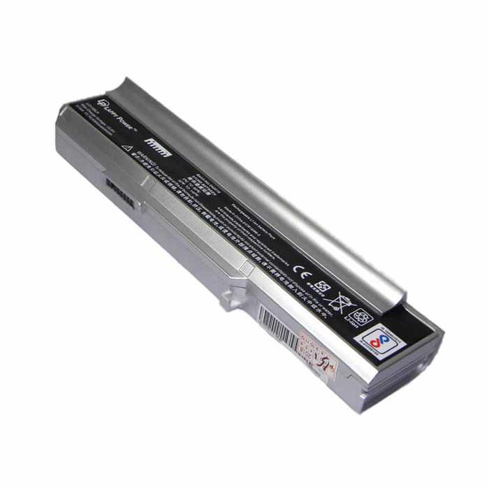 Laptop Battery For Lenovo N100 6 Cell Silver