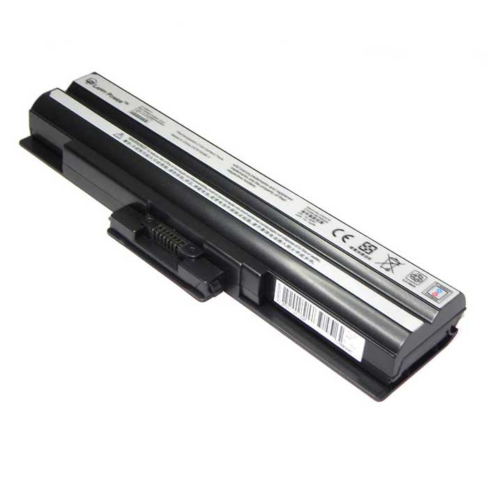 Laptop Battery For Sony Vaio VGP-BPS13 6 Cell Black