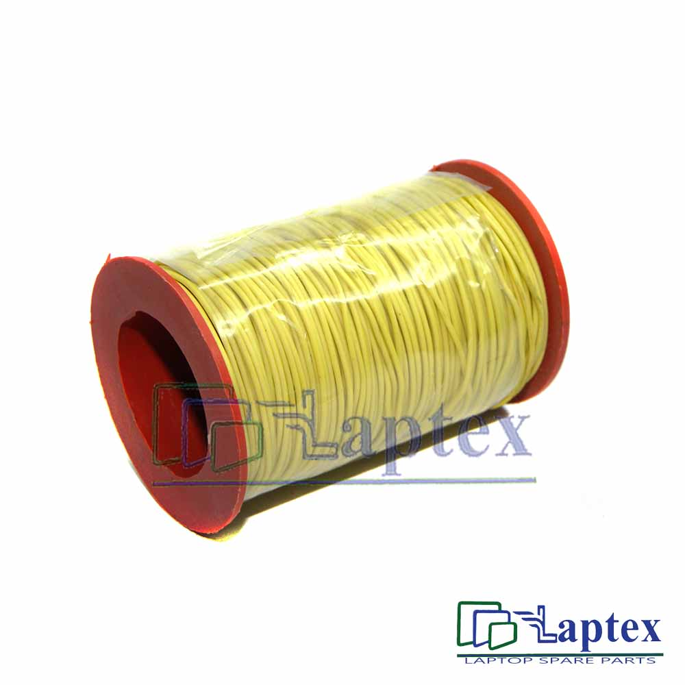 Copper Core Jumper Cable Wire-Yellow