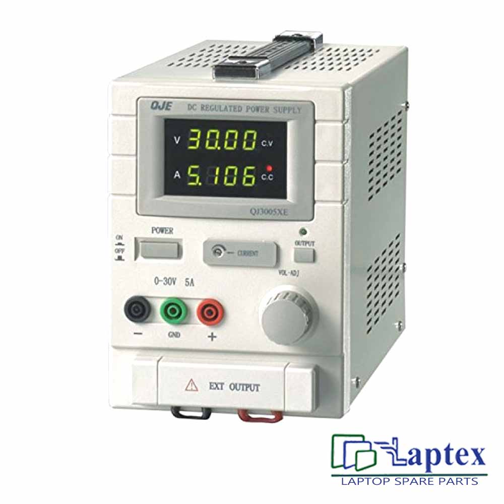 QJE QJ3005XE Adjustable DC Power Supply Meter