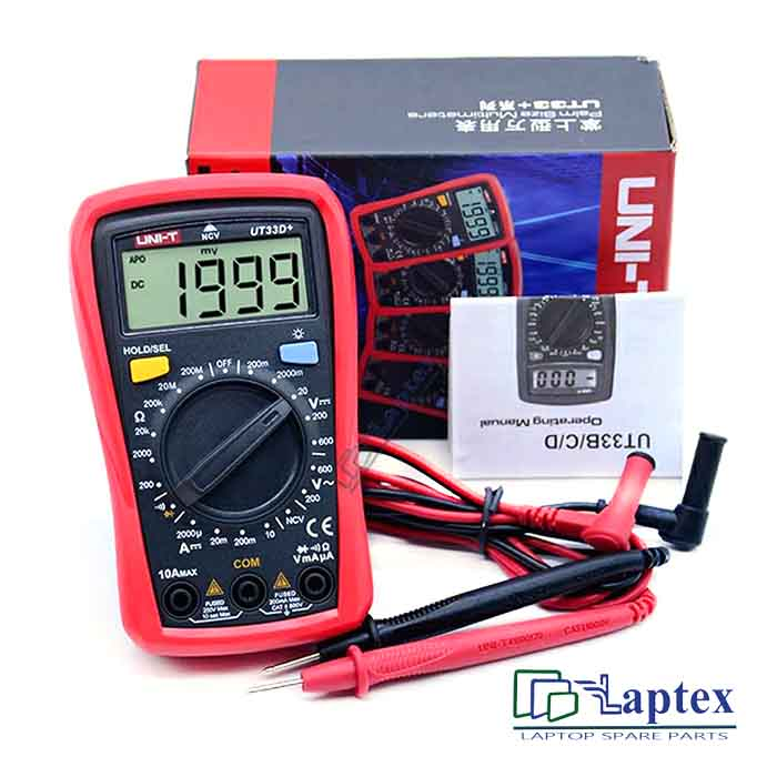 UNI-T Digital Multimeter UT33D+